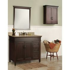 Foremost International Ashburn 36 Inch Vanity With Right