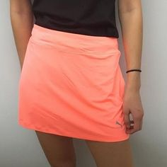 Spring is here!  Our latest women's golf clothing arrival....  http://www.fromtheredtees.net/products/peach-puma-skort?utm_campaign=social_autopilot&utm_source=pin&utm_medium=pin
