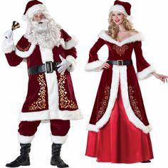 Santa Claus & Elf Costume For Men & Women //Price: $66.05 & FREE Shipping //     }