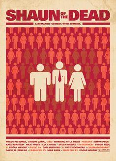 Shaun of the Dead - A romantic comedy