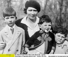 Alexander I of Yugoslavia & Princess Marie (Mignon) of Romania Middle East Culture, King Alexander, Royal King, Serbian, Eastern Europe, Montenegro, King Queen, Romania, Descendants