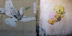 parodie op Banksy