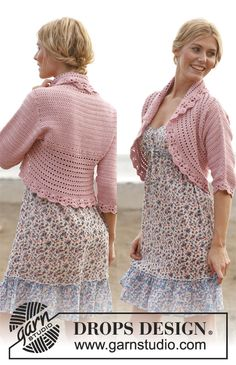 Pretty Jacket pattern - crochet