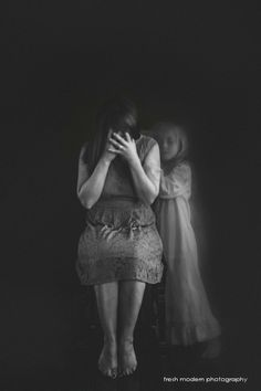 creating ghostly images photo