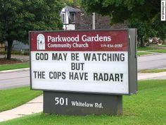 God vs Cops