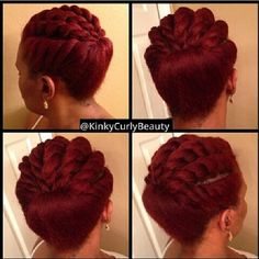 Continues to inspire! @kinkycurlybeauty #protectivestyles #naturalhair