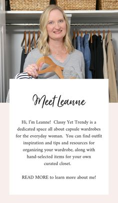 How To Create A Classic Wardrobe Classy Yet Trendy : Get your complete list of tops and bottoms, with budget and investment shopping links in the eBook, Simplified Style: A Year Round Core Closet Essentials Capsule Wardrobe. Spring Outfits Classy, Trendy Outfits, Fall Outfits, Capsule Wardrobe Mom, Wardrobe Ideas, Wardrobe Systems, Classy Yet Trendy, Travel Capsule, Classic Wardrobe