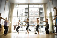 barre3 -combines ballet, yoga, and Pilates in one workout. The 15-minute warm ups in ballet in high school used to get me tired, I could only imagine what 60 minutes would do to me now.