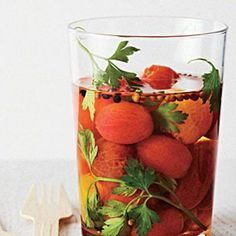Pickled Tomatoes | CookingLight.com