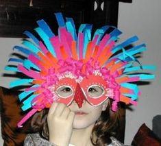masque de carnaval masque de carnaval The post masque de carnaval appeared first on Knutselen ideeën. Carnival Crafts, Rio Carnival, Carnival Masks, Diy For Kids, Crafts For Kids, Arts And Crafts, Karneval Diy, Bird Masks, School Art Projects