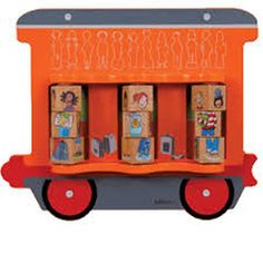 Elemento de pared tren: Vagón con niños