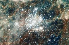 Star Cluster Hodge 301 Hubble JPL NASA space telescope photo hs-2012-01-d