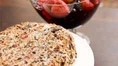 Quick chocolate dipped christmas cake recipe antony worrall my very merry christmas cake chocolate cherry nut torte with champagne berries cream forumfinder Choice Image