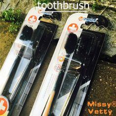 2 pièces brosses à dents nano nettoyage en profondeur de nettoyage Par Voie Orale de blanchiment hygiène des dents antibactérien Doux Adulte brosse à dents bambou