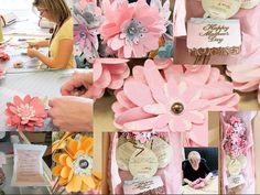 Instructions for Cricut flower bouquets