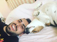 Penso che tra un mese mi verrai a svegliare rubandomi i calzini per giocare  #Beagle #Sicilia #summer2016