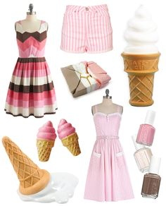 neapolitan: the PERFECT marriage of colors I LOVE!