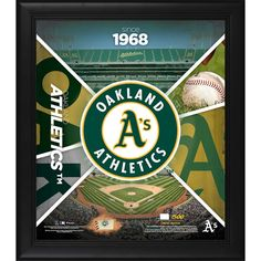 6e80119e5d9 Oakland Athletics Fanatics Authentic Framed 15