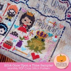2014 Once Upon A Time Sampler PDF Cross Stitch Pattern