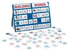 Amazon.com : Smethport Tabletop Pocket Chart Building Words : Classroom Pocket Charts : Toys & Games