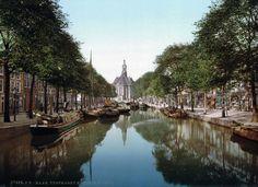 turfmarkt nieuwe kerk 1900