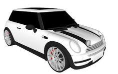 The Italian Job White Mini Cooper - 3D Warehouse