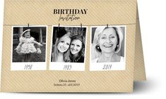 Make Color, Polaroid, Neutral Tones, Design Crafts, It's Your Birthday, Your Cards, Birthday Invitations, Card Stock, Party Themes
