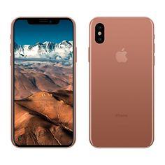 Barevné obaly na iPhone nebudou třeba. iPhone 8 přijde ve speciální zlaté.