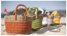 Patrón cesto de playa gratis de Katia http://www.katia.com/descarga_modelo.php?revista=6921&numero=10&letra=a&lng=ES
