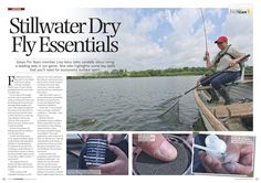 How to succeed with dry flies! Fishing Magazines, Team Member, Fisher, September, Tips, Sports, Hs Sports, Advice, Sport