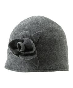 Take a look at this Gray Melanie Wool Cloche Hat by Shiraleah on #zulily today!