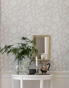 Amitola   Papel de parede floral   Padrões de papel de parede   Papel de parede dos anos 70