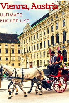 Vienna, Austria ultimate bucket list: discover top attractions, major sights, and what you can't miss in Vienna!