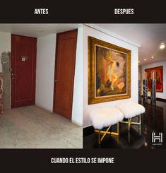 Un estilo Ingles que no deja de enamorarnos.  Conoce la remodelación completa de este espacio a través de www.estilohauzz.com