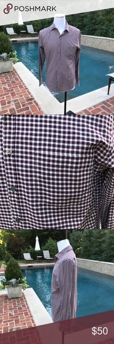 Rodd & Gunn Men's Sports Checked Button Down Not brand new but in brand new like condition is a Men's Rodd & Gunn 100% Woven Cotton Sports Fit Check Button Down.  Please look at pictures for exact color. Rodd & Gunn Shirts Casual Button Down Shirts