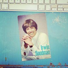 Old Irwin Goodman postcard ©Marika Hjerpe