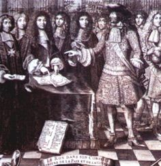 Louis XIV with his council Louis Xiv, Versailles