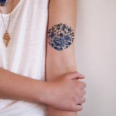 vintage flower tattoo - Google 검색
