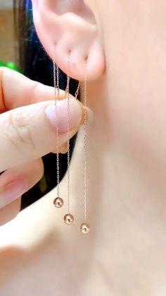 Jewelry Design Earrings, Ear Jewelry, Chain Earrings, Cute Earrings, Designer Earrings, Cute Jewelry, Body Jewelry, Jewelery, Octopus Jewelry