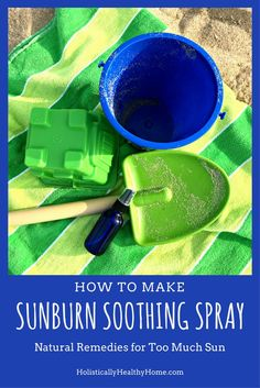 How to Make a Sunburn Soothing Spray with Essential Oils