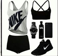 Perf workout outfit:) want these trainers
