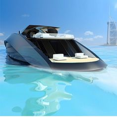 Future Transportation - Boat Design by Andrew Bedov Yacht Design, Boat Design, Speed Boats, Power Boats, Build Your Own Boat, Float Your Boat, Love Boat, House Design Photos, Yacht Boat