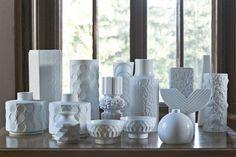 Bavarian White Bisque Modernist Collection
