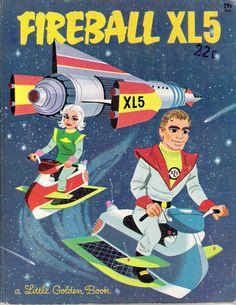 Fireball XL5 (England: 1962-63, ITC Entertainment and U.S.: 1963-65, NBC)