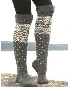Socks over leggings for winter ... I love this!!