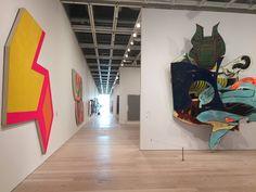 Frank Stella Artist Paintings Retrospective Exhibition Whitney Museum of American Art Manhattan New York