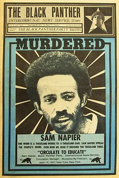 The Black Panther party newspaper  Art director: Emory Douglas
