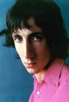 Pete townshend looks good in pink. Tumblr