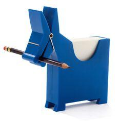 Studio Yaacov Kaufman's adorable donkey stationery storage