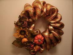 Poly Mesh Wreaths or Centerpieces  Custom made by KupecCreations, $30.00